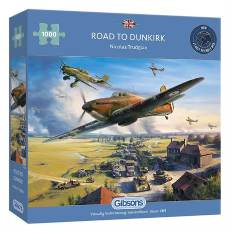 Road to Dunkirk Jigsaw 1000pc Image 1