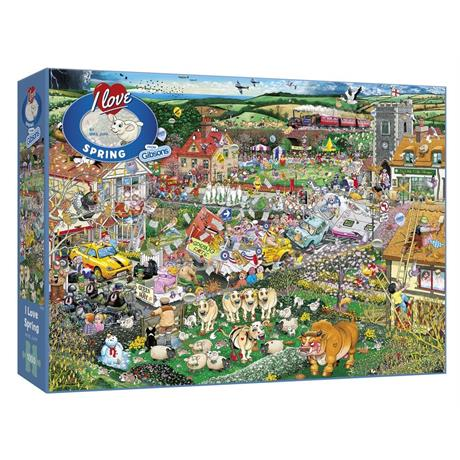 I Love Spring Jigsaw 1000pc Image 1