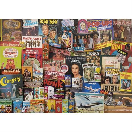 Spirit of the 70s Jigsaw 1000pc Image 1