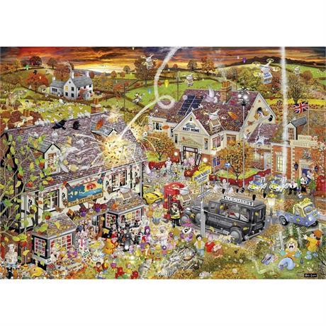 I Love Autumn Jigsaw 1000pc Image 1