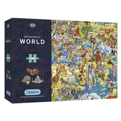 Wonderful World Jigsaw 1000pc (Rectangul Image 1