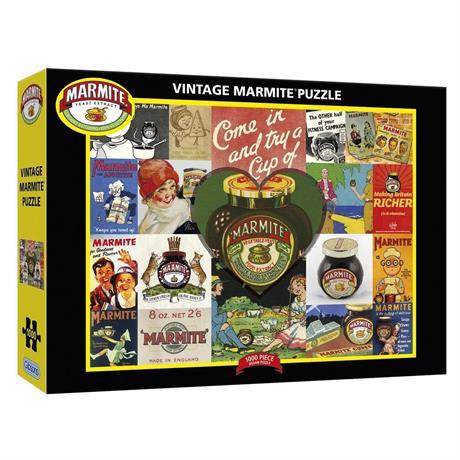 Vintage Marmite Jigsaw 1000pc Image 1