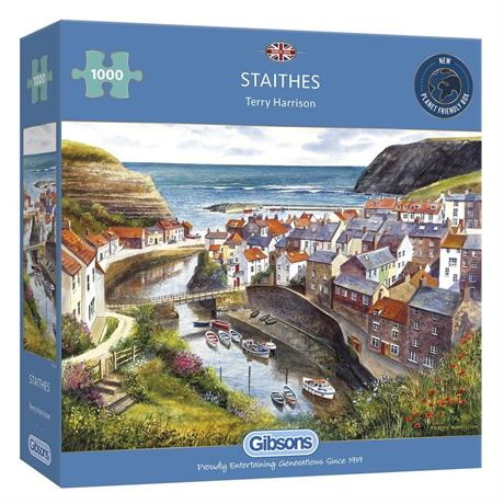 Staithes Jigsaw 1000pc Image 1