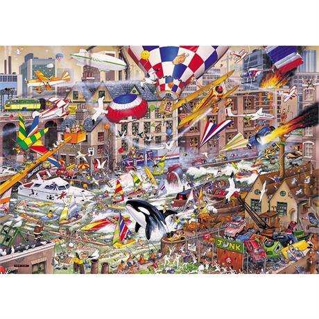 I Love the Weekend Jigsaw 1000pc Image 1
