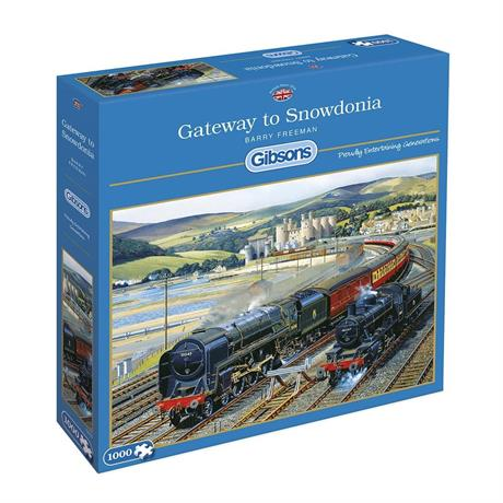 Gateway to Snowdonia Jigsaw 1000pc Image 1