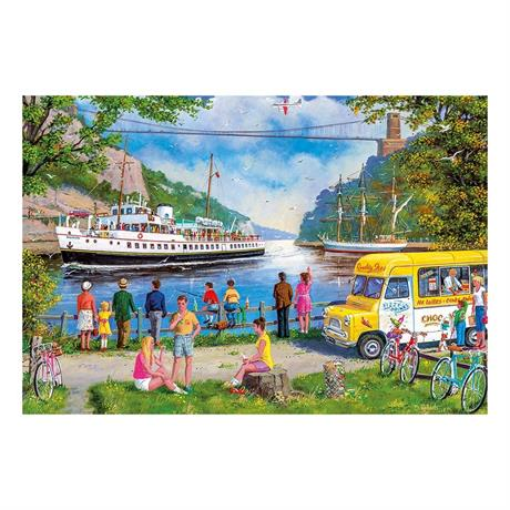 Clifton Bridge, Bristol 500 Piece Jigsaw Puzzle Image 1