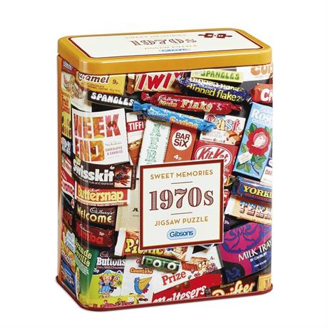 1970s Sweet Memories Gift Tin - Jigsaw 5 Image 1