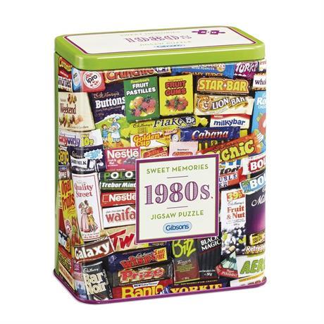 1980s Sweet Memories Gift Tin - Jigsaw 5 Image 1