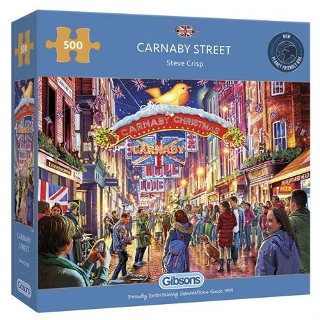 Carnaby Street Jigsaw 500pc Image 1