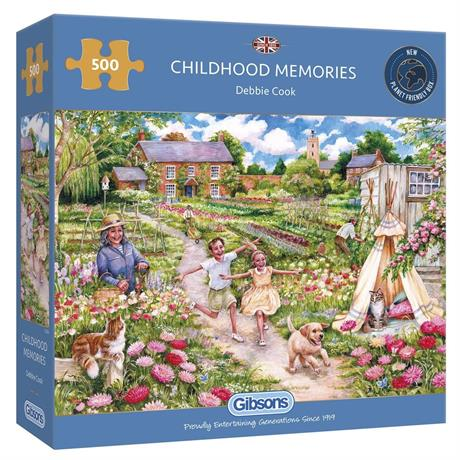 Childhood Memories Jigsaw 500pc Image 1