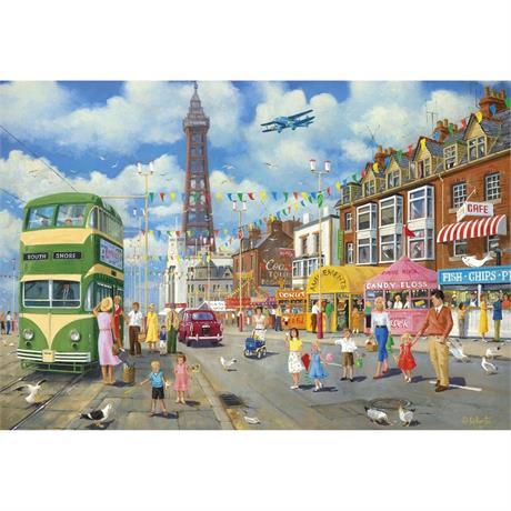 Blackpool Promenade Jigsaw 500pc Image 1