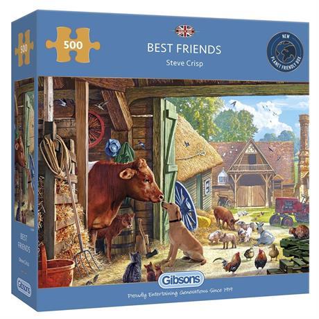 Best Friends Jigsaw 500pc Image 1