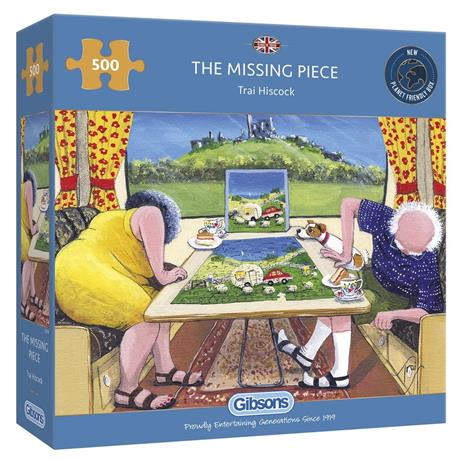 The Missing Piece Jigsaw 500pc Image 1
