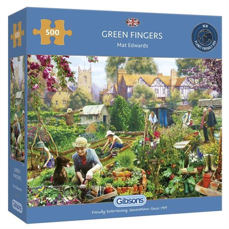 Green Fingers Jigsaw 500pc Image 1