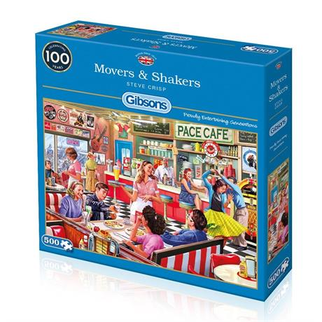 Movers & Shakers Jigsaw 500pc Image 1