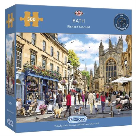 Bath Jigsaw 500pc Image 1