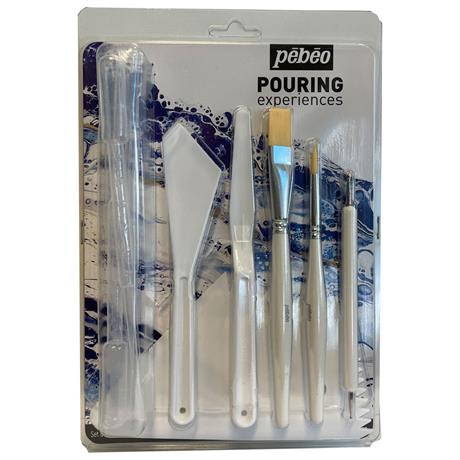 Pebeo Accessories for Paint Pouring Image 1