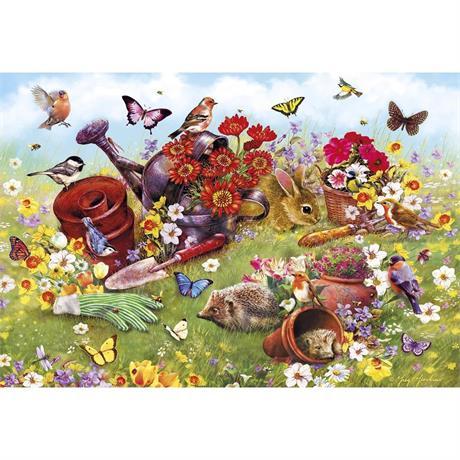 In the Garden Jigsaw 500pc Image 1