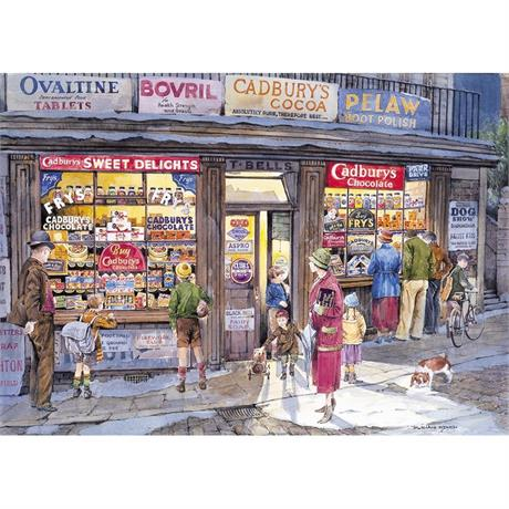 The Corner Shop Jigsaw 500pc Image 1