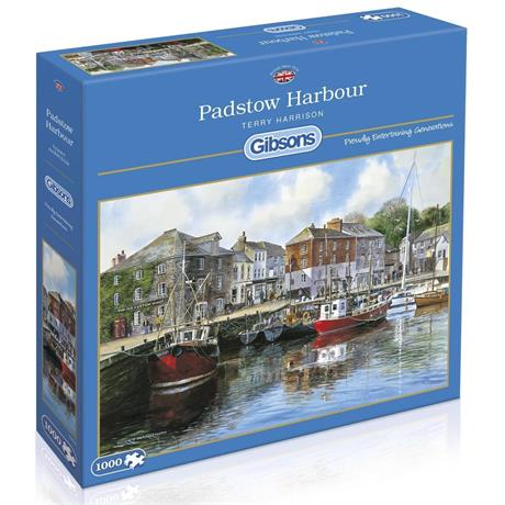 Padstow Harbour Jigsaw 1000pc Image 1