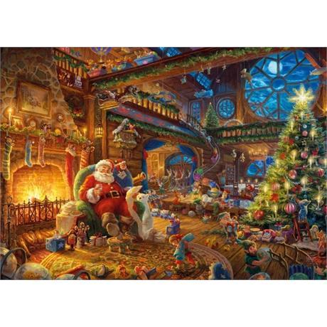 Santa's Workshop Jigsaw 1000 pieces (Kin Image 1