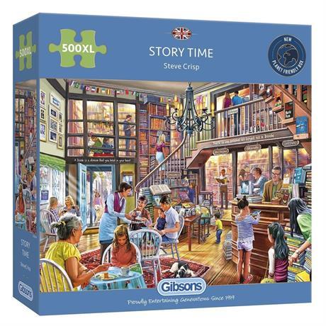 StoryTime 500XL Piece Jigsaw Puzzle Image 1