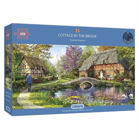 Cottage By The Brook Jigsaw 636pc Image 1