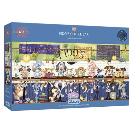 Fido's Coffee Bar Jigsaw 636pc Image 1