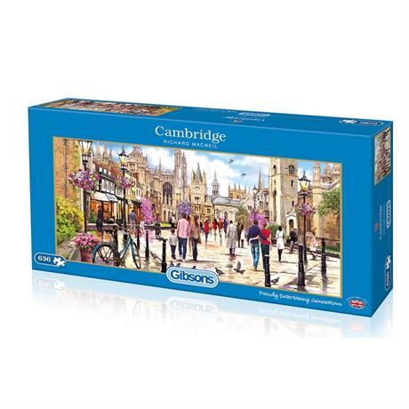 Cambridge 636 Piece Jigsaw Puzzle Image 1