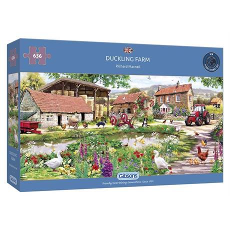 Duckling Farm Jigsaw 636pc Image 1