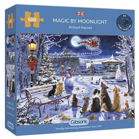 Magic By Moonlight 500 Piece Jigsaw Puzzle Image 1