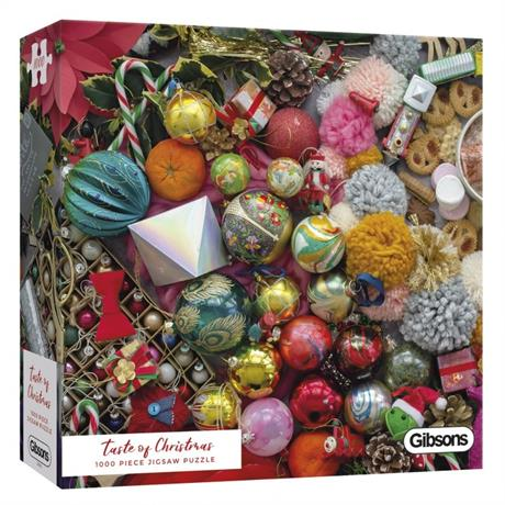 Taste Of Christmas 1000 Piece Jigsaw Puzzle Image 1