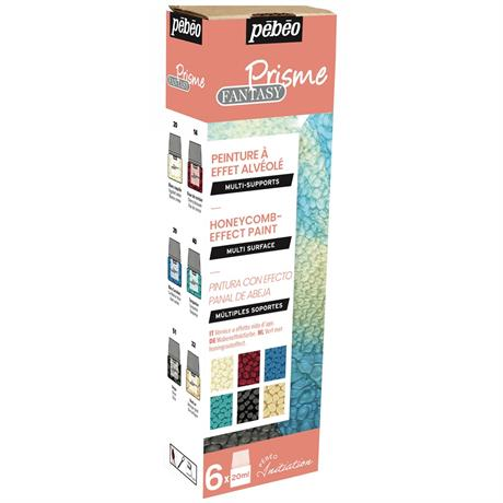 Pebeo Fantasy Prisme Initiation Set 6 x 20ml Assorted Image 1