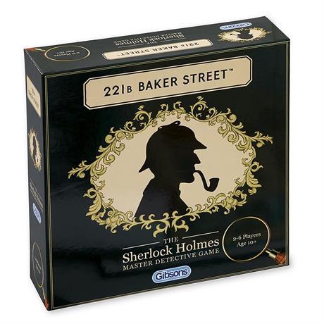 221B Baker Street Sherlock Holmes Family Game Image 1