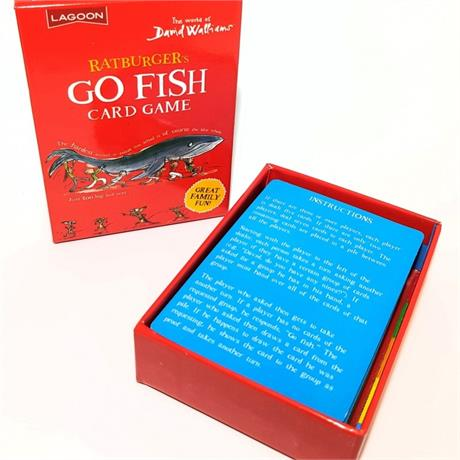 Ratburger's Go Fish Card Game Image 1