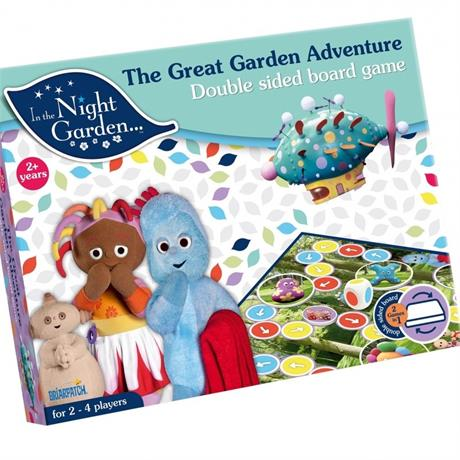 In the Night Garden - The great Garden Adventure Board Game Image 1