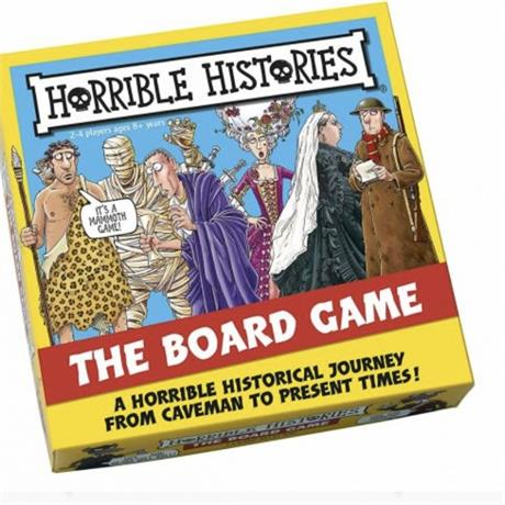 Horrible Histories the Board Game Image 1