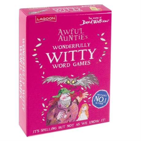 Awful Auntie's Wonderfully Witty Word Games Image 1