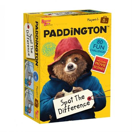 Paddington Spot The Difference Game Image 1