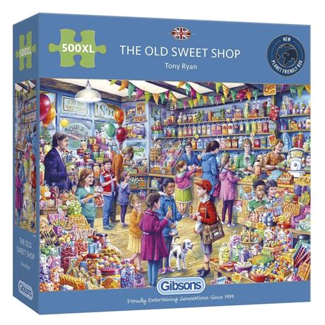 The Old Sweet Shop 500XL Piece Jigsaw Puzzle  Image 1