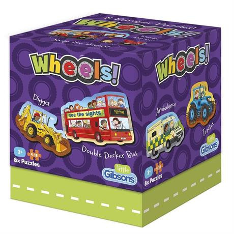 Wheels Children's Jigsaw Puzzles Image 1