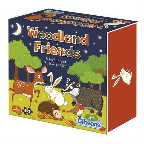 Woodland Friends Children's Jigsaw Puzzles Image 1