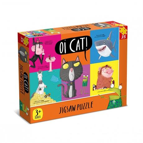 Oi Cat 35 Piece Jigsaw Puzzle Image 1