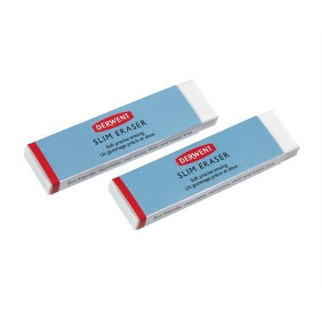 Derwent Slim Eraser Twin Pack Image 1