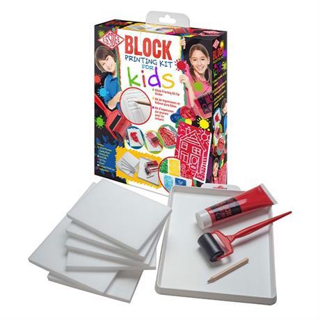 Essdee Block Printing Kit for Kids Image 1