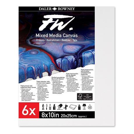 FW Mixed Media Rigid Canvas Multi Packs Image 1