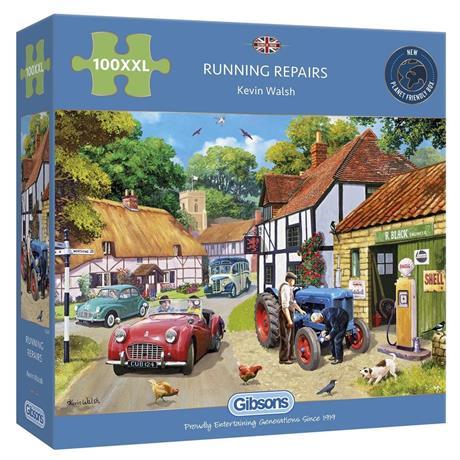 Running Repairs 100XXL Piece Jigsaw Puzzle Image 1