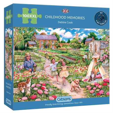 Childhood Memories 100XXL Piece Jigsaw Puzzle Image 1