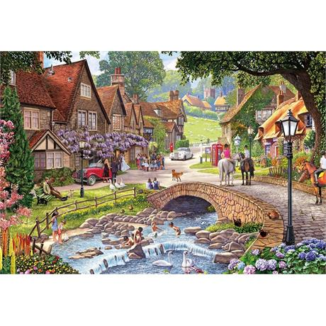 Wisteria Wedding 250XL Piece Jigsaw Puzzle Image 1