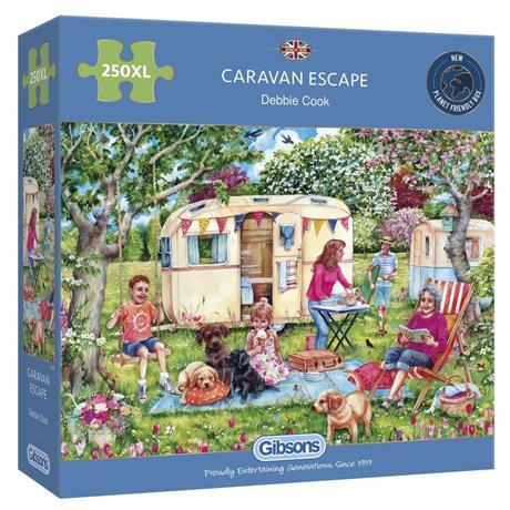 Caravan Escape  250XL Piece Jigsaw Puzzle Image 1